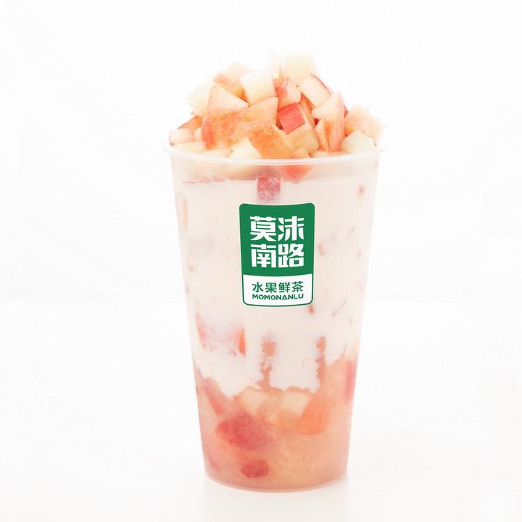 白桃乌龙奶茶