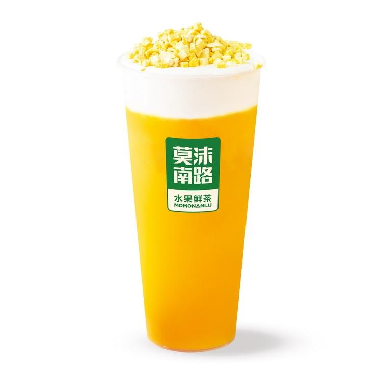 超级芒果奶盖