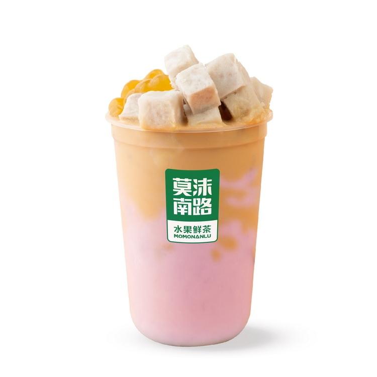 芋泥啵啵奶茶
