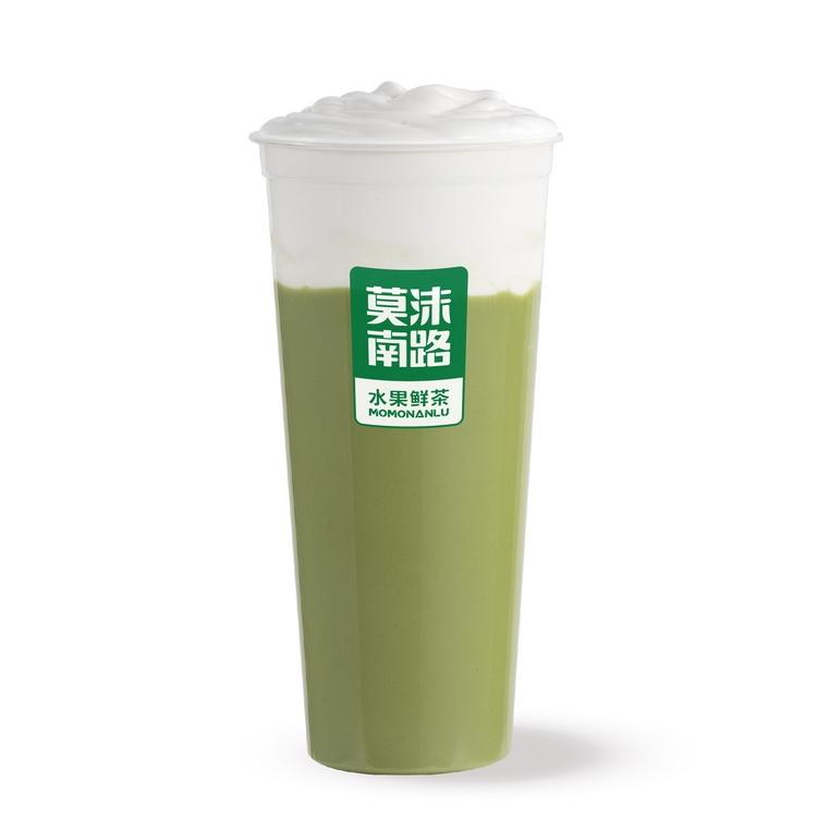 芝士抹茶奶盖