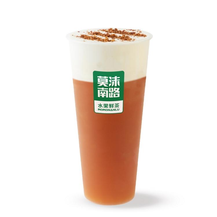 花香红茶奶盖