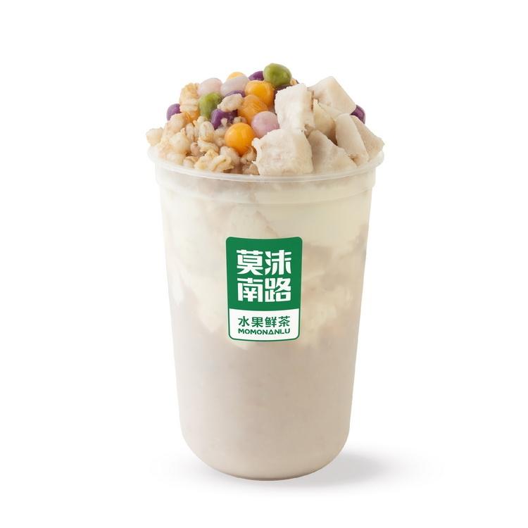 芋泥青稞牛奶